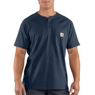 Carhartt Men's Force Cotton Delmont Short-Sleeve Henley