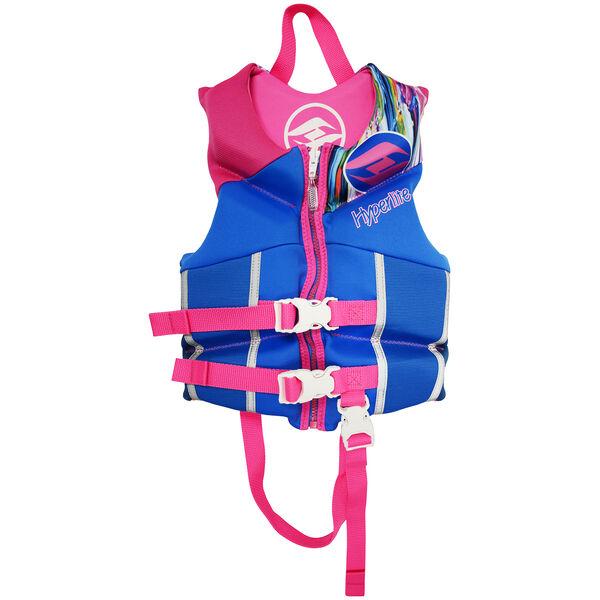 Hyperlite Pro V Child Life Jacket, blue/pink 2019