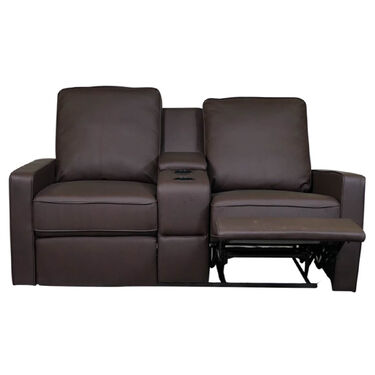 Allure Furniture Dual Recliner Theater Seat, Carver