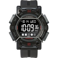 Timex Expedition Digital Face 47mm - Black Screen with Black Resin Strap