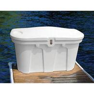 """Stow 'N Go Dock & Patio Storage Box White (43""""L x 21""""W x 26""""H)"""