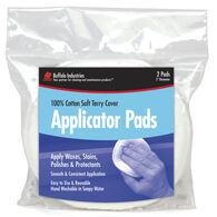 Buffalo Terry Cloth Wax Applicator Pads, 2-Pack