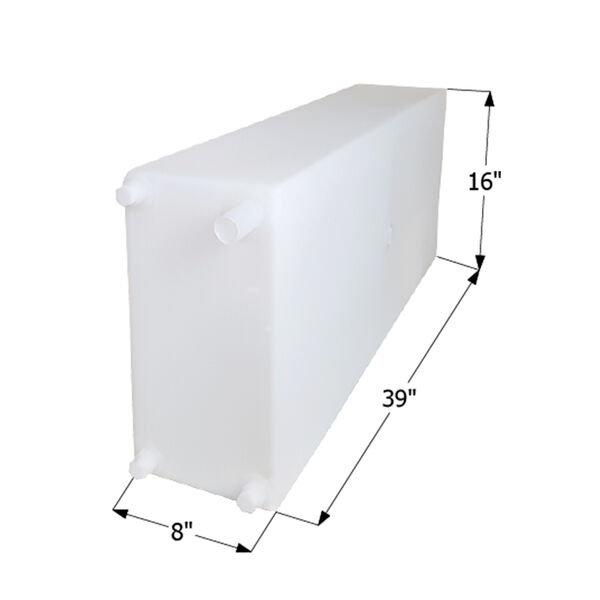 """ICON Technologies WT2460 Freshwater Tank with 1/2"""" Fittings, 20 Gallons"""
