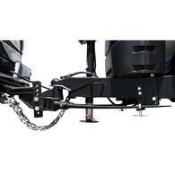Blue Ox BXW0850 TrackPro Weight Distributing Hitch, Standard Shank, 7-Hole, 800-lb. Tongue Weight