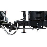 Blue Ox BXW1050 TrackPro Weight Distributing Hitch, Standard Shank, 7-Hole, 1000-lb. Tongue Weight