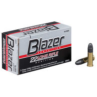 Blazer .22 Long Rifle Ammunition, .22 LR, 40-gr., HS