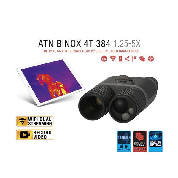 ATN Binox 4T 384 4.5-18X Smart HD Thermal Binoculars