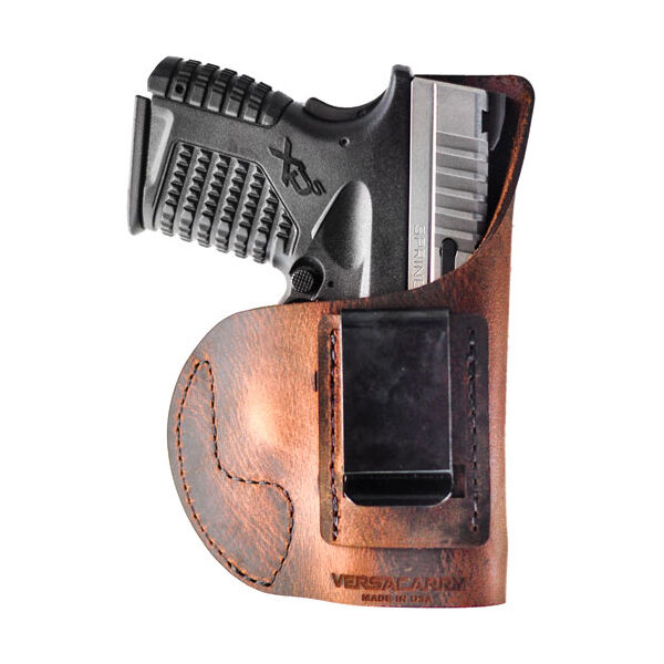 Versacarry Element IWB Size 3 Holster, Brown