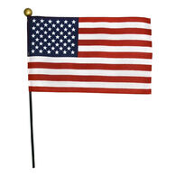 4 in. x 6 in. U.S. Flag on a Stick