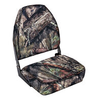 Wise High-Back Camo Fishing Chair