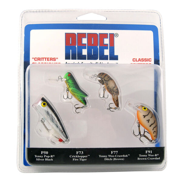 Rebel Classic Critters Kit, 4-Pk.