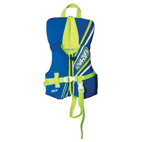 O'Brien Infant BioLite Life Jacket - Blue/Lime Green