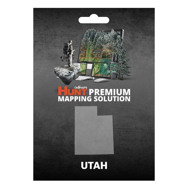 onXmaps HUNT GPS Chip for Garmin Units + 1-Year Premium Membership, Utah