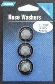 Hose Filter Washers, Pack of three
