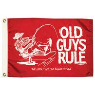 Old Guys Rule Flag, The Older I Get, The Bigger It Was