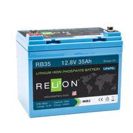 RELiON 12V 35Ah Lithium Battery