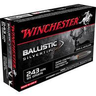 Winchester Ballistic Silver Tip Supreme Centerfire Ammo, .243 Win, 95-gr.