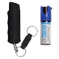 Sabre Red Quick-Release Key Ring New User Pepper Spray Kit