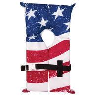Airhead Type II Stars & Stripes Life Vest 4-pack w/ Storage Bag
