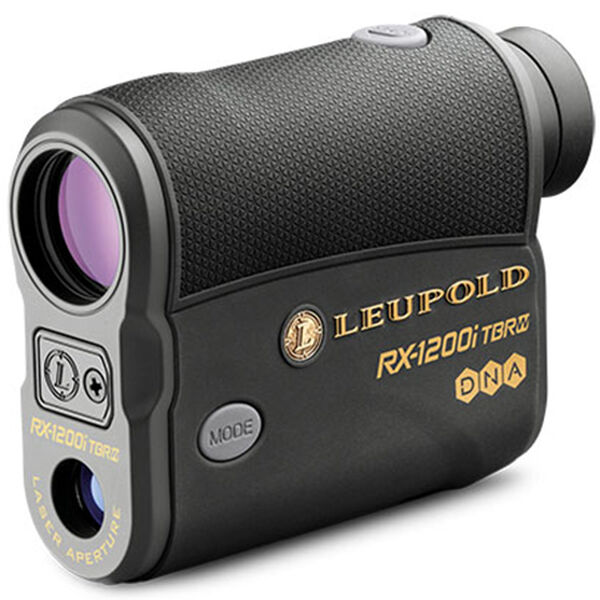 Leupold RX-1200i TBR/W DNA Digital Laser Rangefinder, Black/Gray