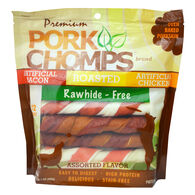 Pork Chomps Rawhide Twists