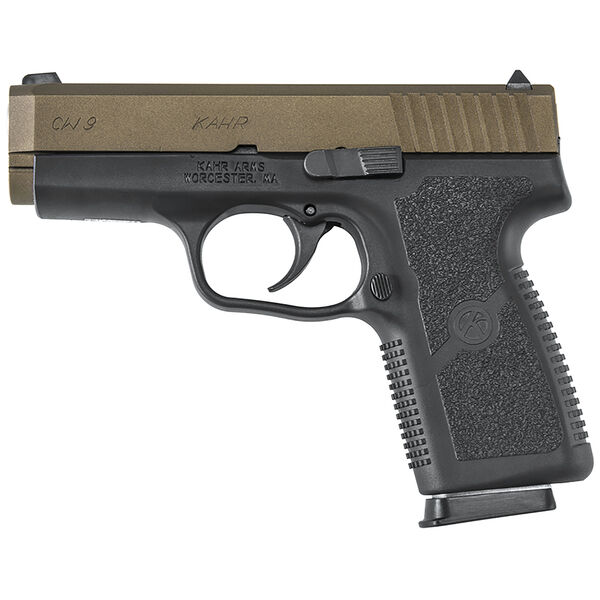 Kahr CW9 Burnt Bronze Handgun