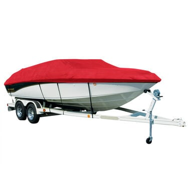 Exact Fit Covermate Sharkskin Boat Cover For KING FISHER XL196 F/S w/PORT LADDER
