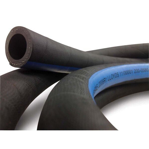 "Shields 2"" Marine Exhaust/Water Hose, 12-1/2'L"