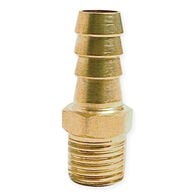 "Fuel Hose Barb Fitting - 3/8"" Male Barb"