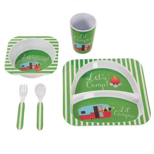 Camping Meal Set, Green Let's Camp Set