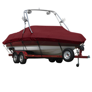 Exact Fit Sharkskin Boat Cover For Bayliner Capri 225 Br Xt W/Xtreme Tower
