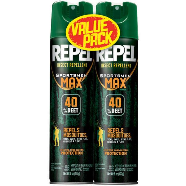 Repel Insect Repellent Sportsmen Max Formula 6 5 Oz Aerosol Spray