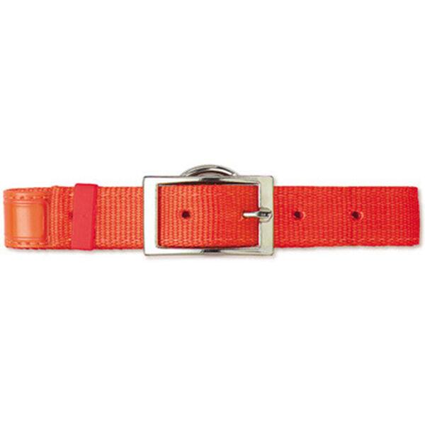 "Scott Pet Hot Orange Field Collar, 1""W x 20""L, Reflexite"