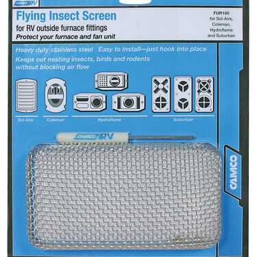 Flying Insect Screen for Sol-Aire, Coleman, Hydroflame and Suburban Furnaces