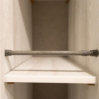 """Simple Nest Gray Cupboard Bars, 16""""-28"""", 3-Pack"""