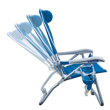 GCI Outdoor Bi-Fold Beach Chair, Saybrook Blue