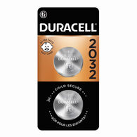 Duracell Lithium 2032 Coin Batteries, 2-Pack