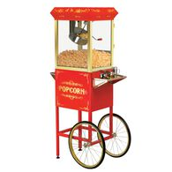 Elite Old Fashioned Popcorn Trolley with Accessories