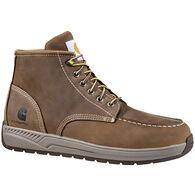 "Carhartt Men's 4"" Brown Lightweight Wedge Moc Toe Boot"