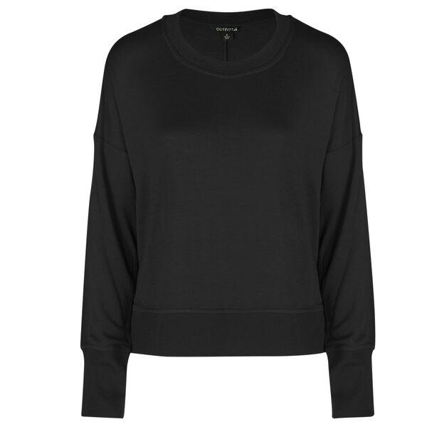 OutFitt Women's Drop-Sleeve Lounge Sweatshirt