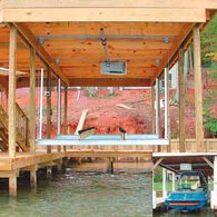 Doozie Boat House Lifts With Overhead Beams