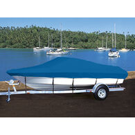 Hot Shot Coated Polyester Boat Cover For Crestliner 1400 Angler Side Console