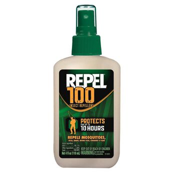 Repel 100 Insect Repellent 4-Oz. Pump Spray Bottle