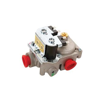 Gas Valve, Side Inlet & Rear Outlet, 12 VDC, Newer SF Series, Furnace