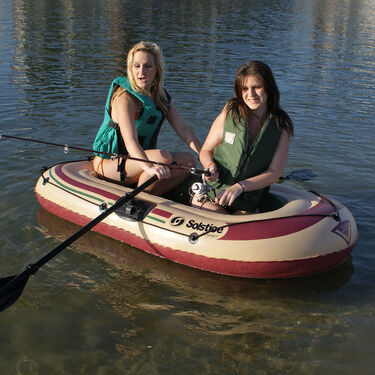 Solstice Voyager 2-Person Inflatable Boat Outfit