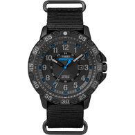 Timex Expedition Rugged Resin Slip-Thru Watch, Black