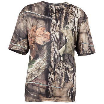 f36944a161c85 Mossy Oak Youth Camo Short-Sleeve Tee - Break-Up Country | Gander ...