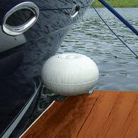 """Dock Wheel White 12"""" Corner Mount"""
