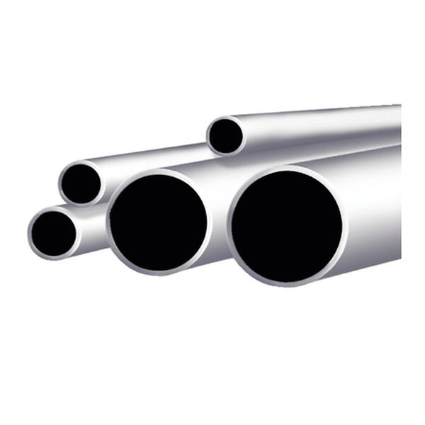 "Taco Stainless Steel Round Tube, 6'L x 7/8"" OD"