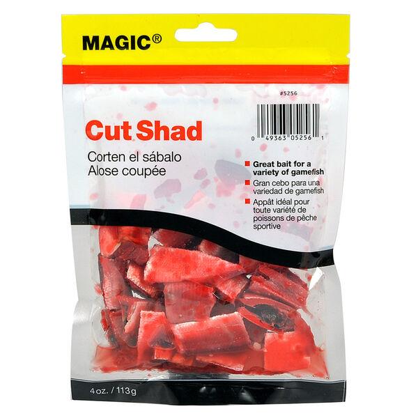 Magic Preserved Cut Shad, 4-oz.